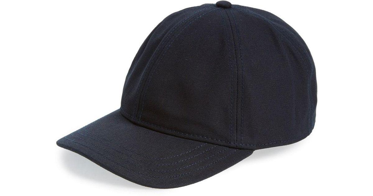 26731842c80 Lyst - Rag   Bone Standard Issue Baseball Cap in Blue for Men
