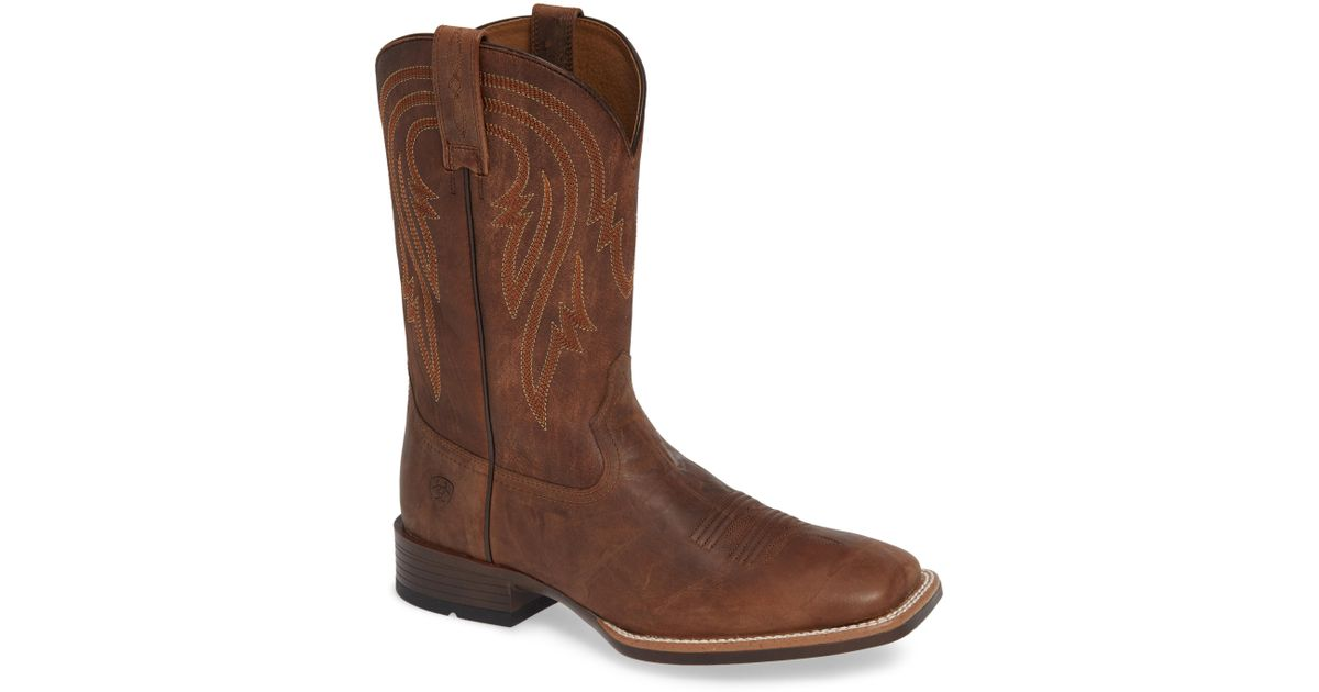 95806a04899 Ariat - Brown Plano Cowboy Boot for Men - Lyst