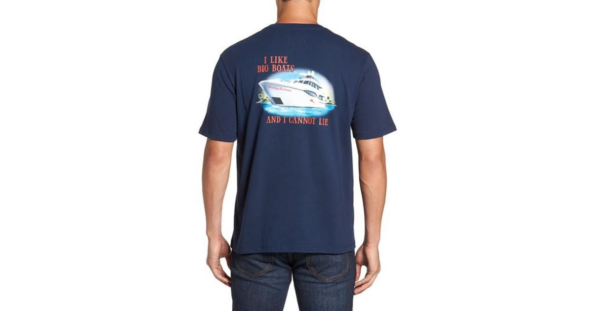 Lyst Tommy Bahama Big Boats Standard Fit T Shirt In Blue