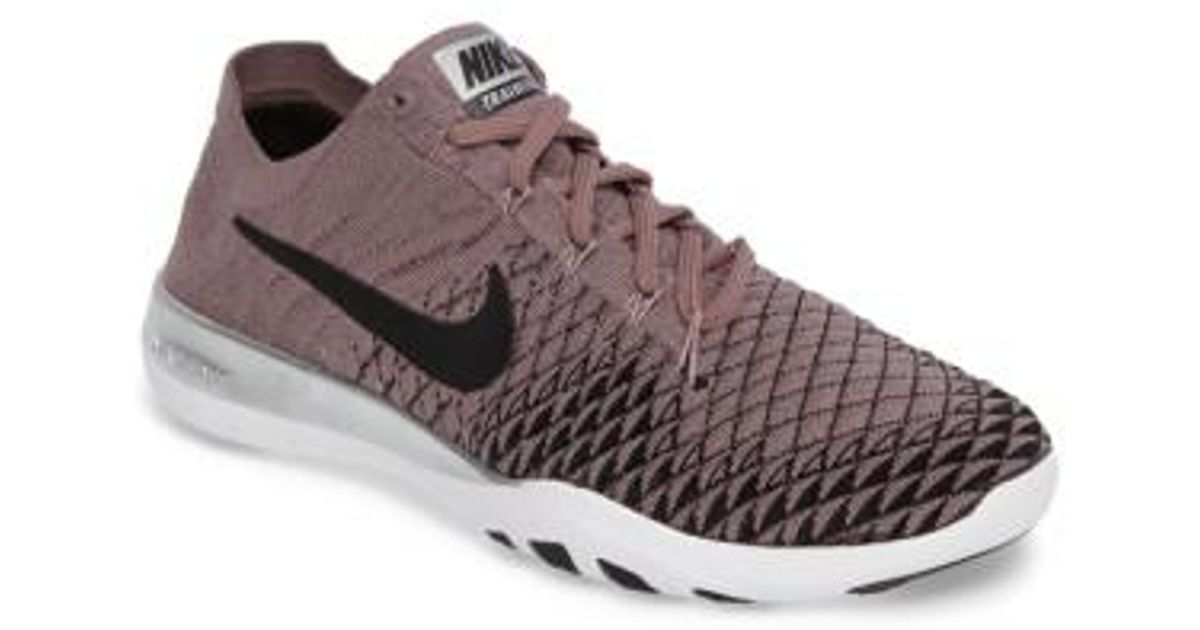 531a7343df6ba Lyst - Nike Free Focus Flyknit 2 Bionic Training Shoe