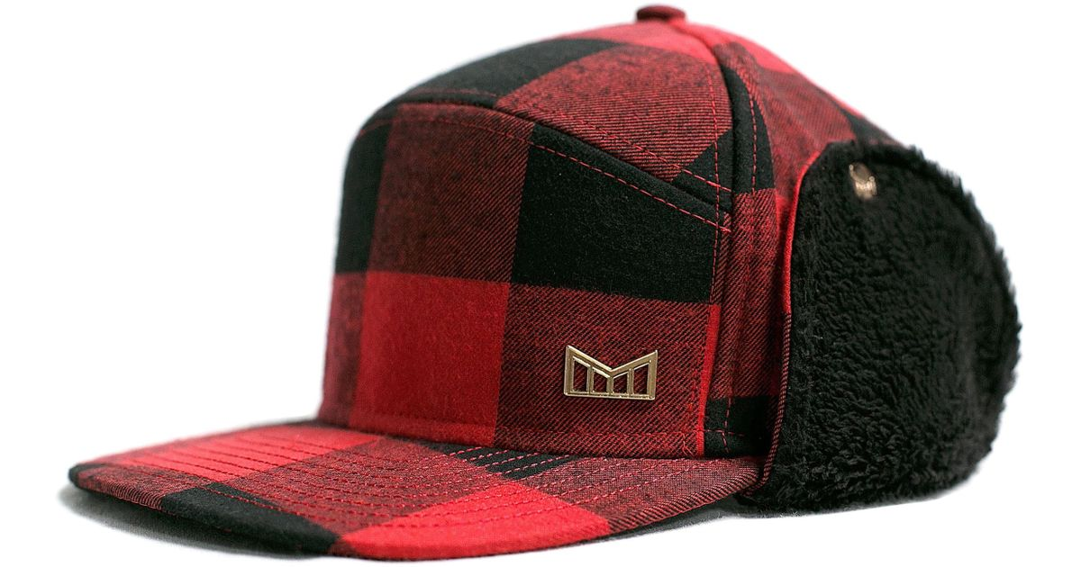 quality design 1f9cb 0a33c Melin Lumberjack Snapback Cap in Red for Men - Save 11% - Lyst