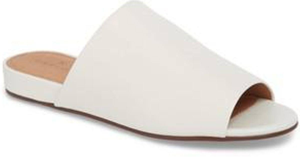 64d762d47de Lyst - Caslon Caslon Kiana Slide Sandal in White