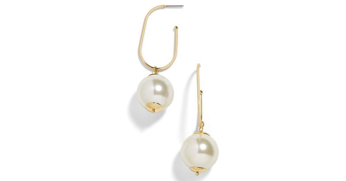 6fa37e715b387 BaubleBar - Multicolor Shelby Imitation Pearl Drop Earrings - Lyst
