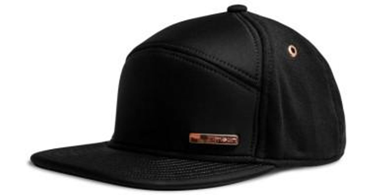 quite nice db33e 07ad3 ... sale lyst melin the mini bar baseball hat in black for men save 1.25  579ea 1680a