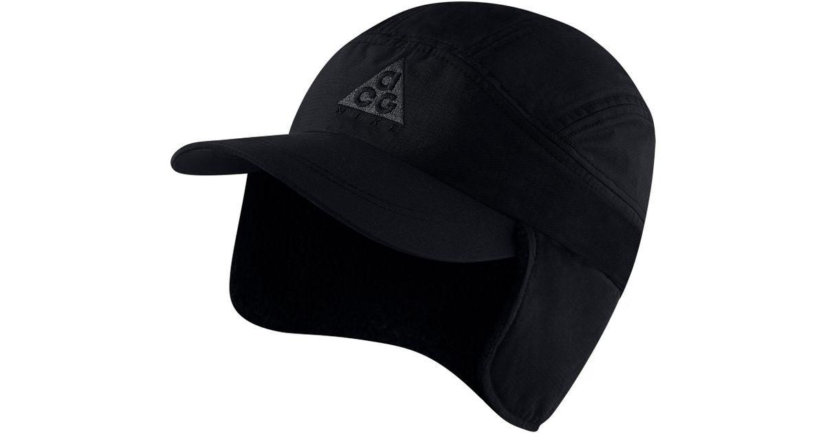 1a3451a3591 Lyst - Nike Sportswear Acg Tailwind Fleece Cap - in Black for Men