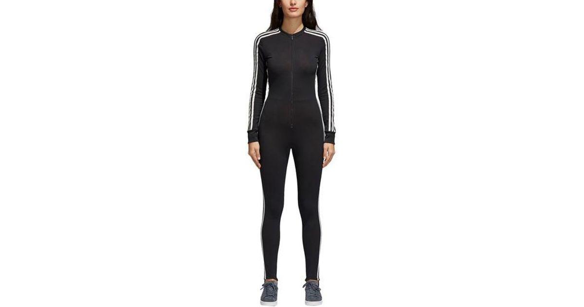 386db53dd5df Lyst - adidas Stage One-piece Track Suit in Black