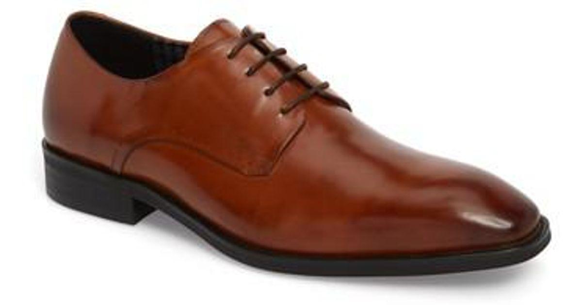 Karl Lagerfeld Men's Plain Toe Oxford