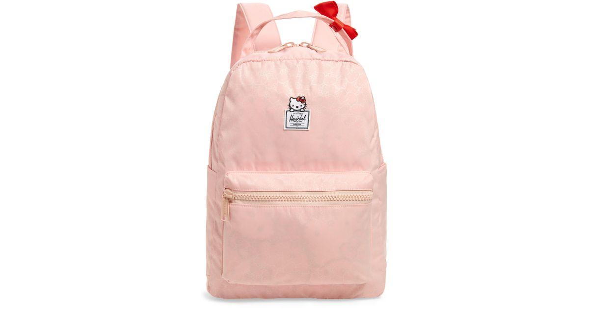 1dab7c58a Herschel Supply Co. X Hello Kitty Nova Mid Volume Backpack - in Black - Lyst