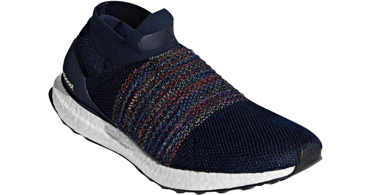 35f5d3527c8 ... Lyst - Adidas Ultraboost Laceless Running Shoe in Blue for Men ...
