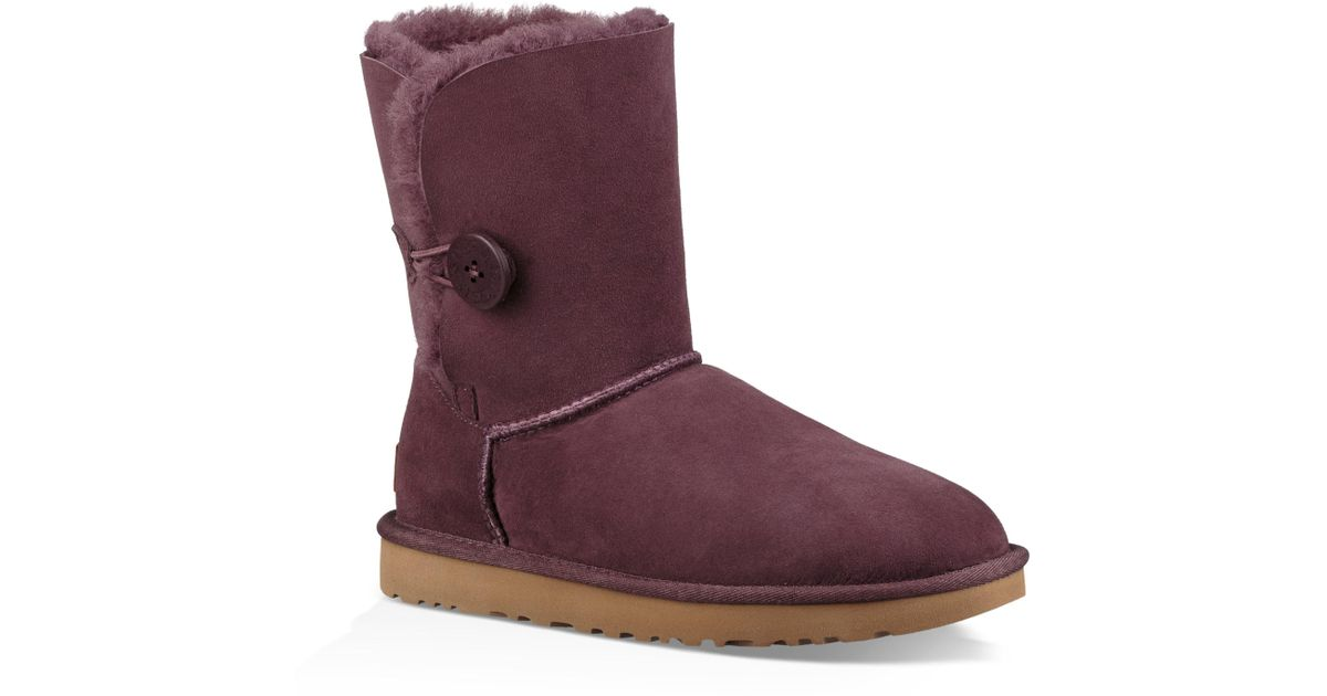 30db8ac4d93 Ugg - Purple Ugg 'bailey Button Ii' Boot - Lyst