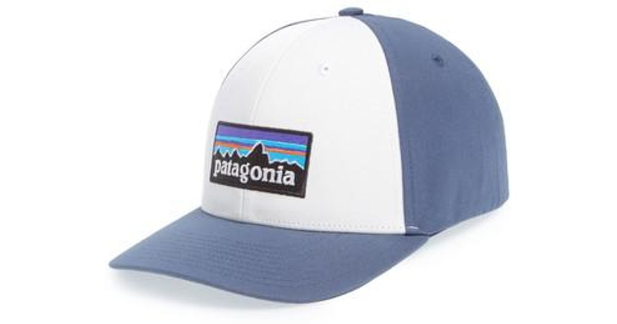 11d0419cd5a1e Lyst - Patagonia P-6 Roger That Baseball Cap in Blue for Men
