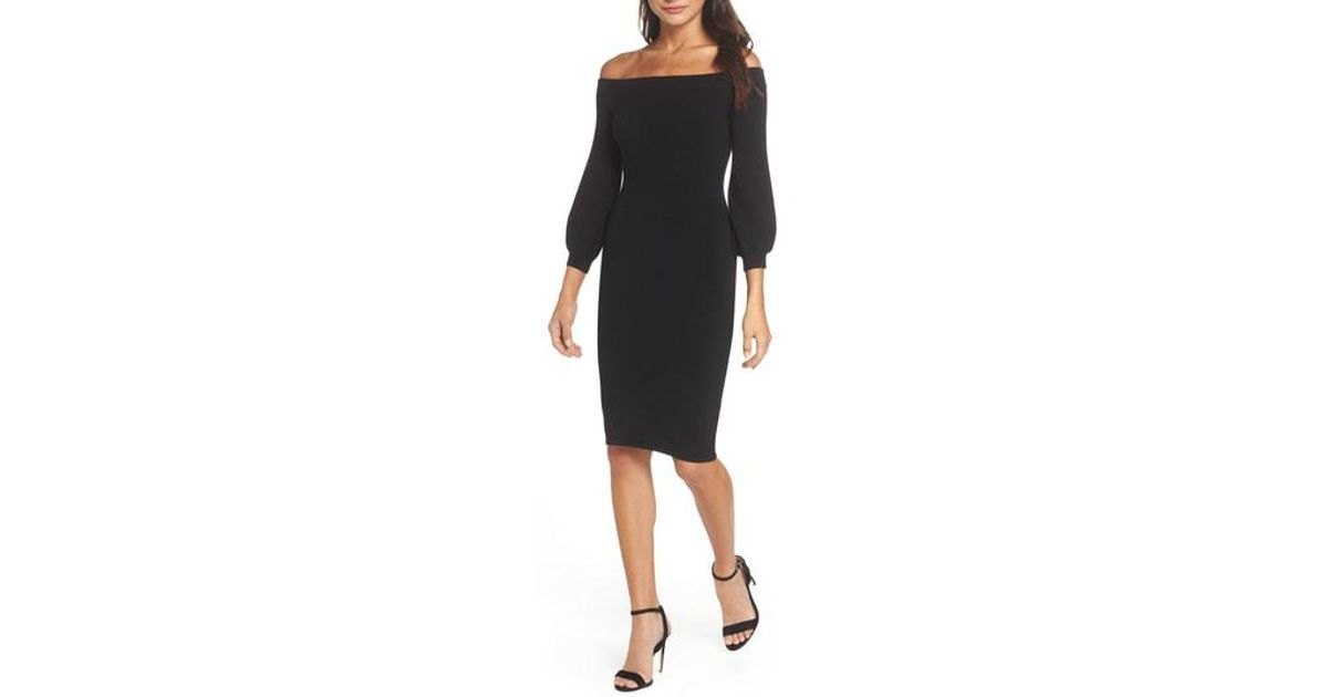 Lyst Ali Jay Standing Strong Off The Shoulder Midi Sweater Dress