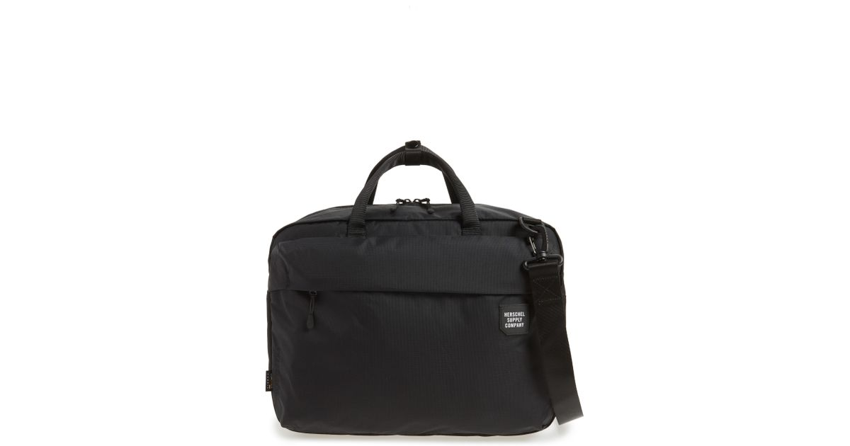 48239c1f823 Lyst - Herschel Supply Co. Britannia Convertible Messenger Bag - in ...