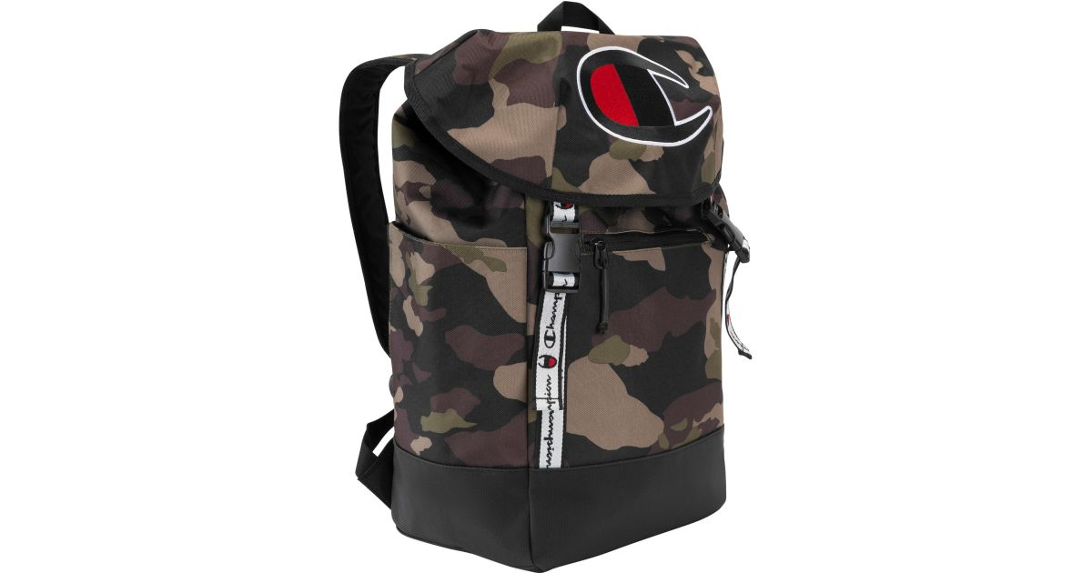 8e54b0caa4 Lyst - Champion Top Load Backpack in Black for Men - Save 17%