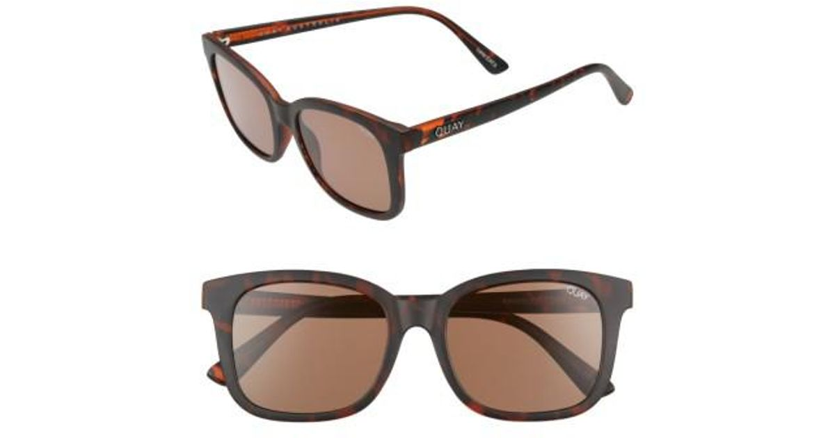 8b1d3f9361b26 Lyst - Quay Kingsley 52mm Sunglasses - Chocolate  Brown in Brown for Men