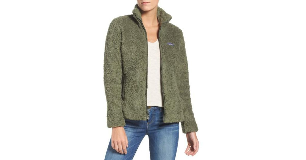 4a8e17e1f4fc2 Lyst - Patagonia Los Gatos Fleece Jacket in Green