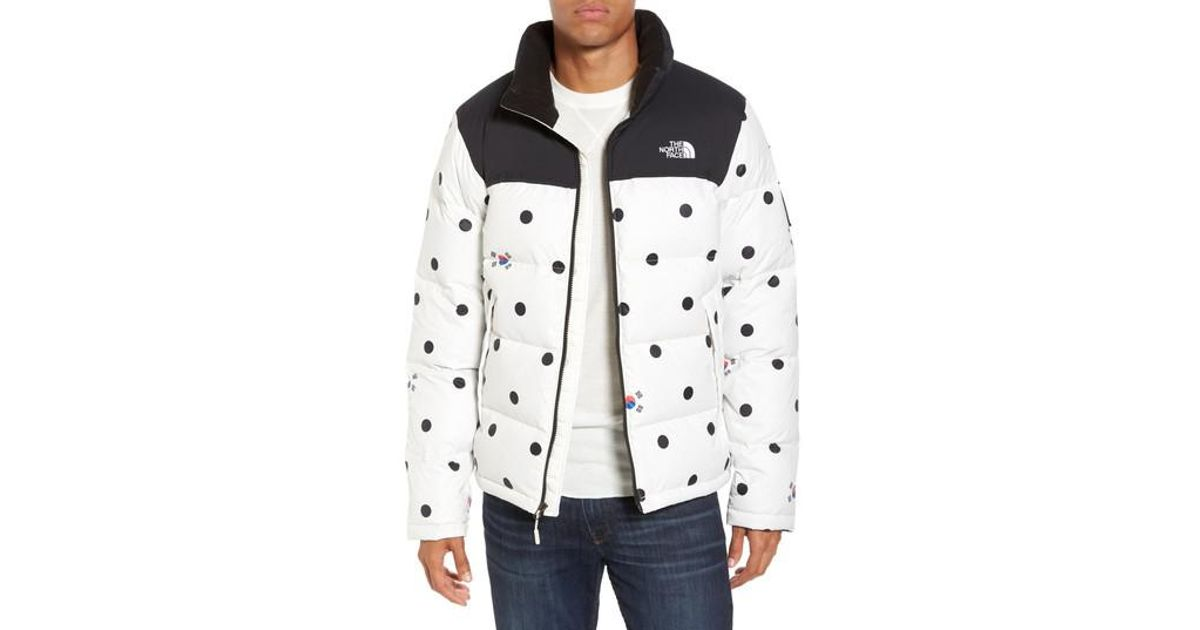 8341ca85bdab Lyst - The North Face International Collection Nuptse Down Jacket in Gray  for Men