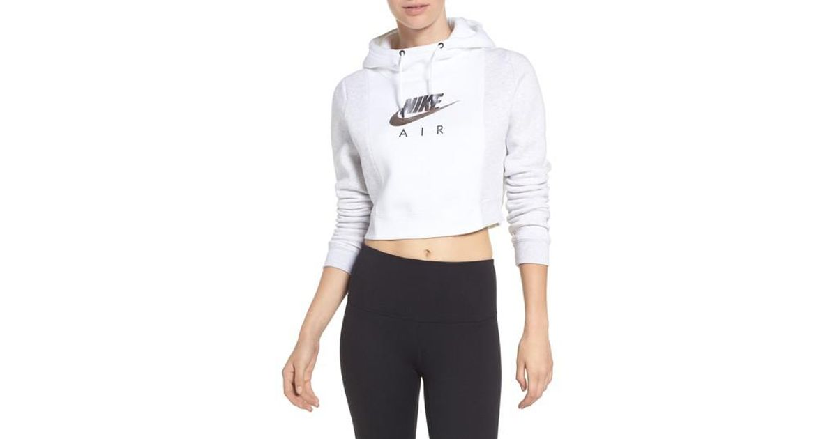 f473fe3a596 Lyst - Nike Air Rally Hoodie in White