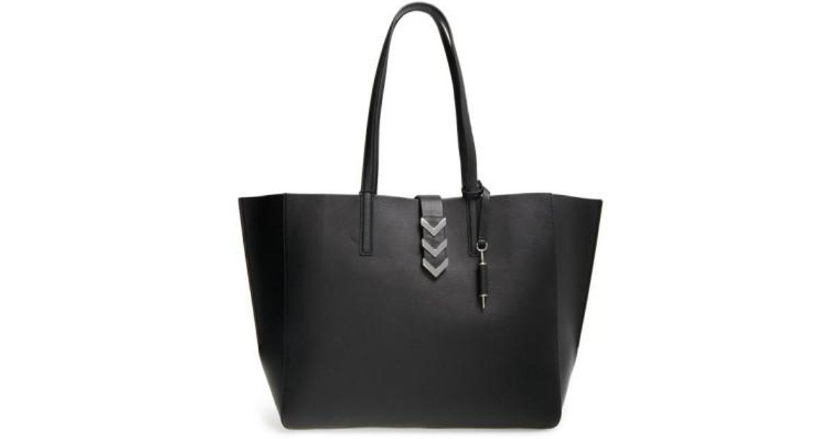 Lyst - Mackage  aggie  Shopper in Black faf16b3516d86
