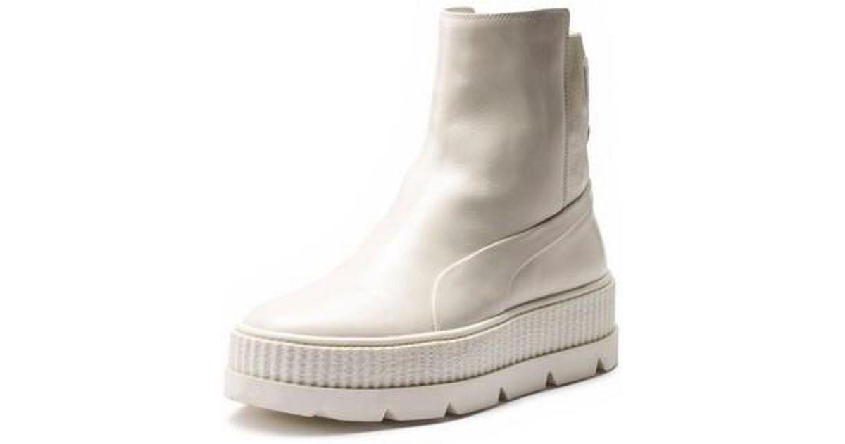 fac77dec0e5f8a Lyst - PUMA Fenty By Rihanna Chelsea Boot Creeper Sneaker