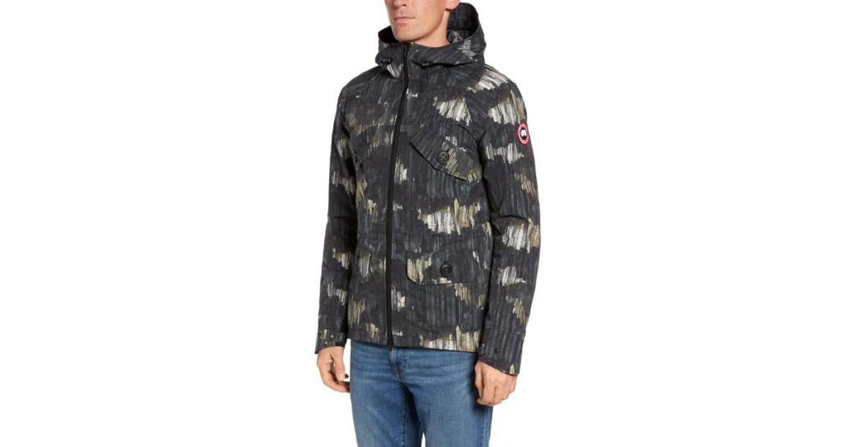 canada goose redstone hooded jacket