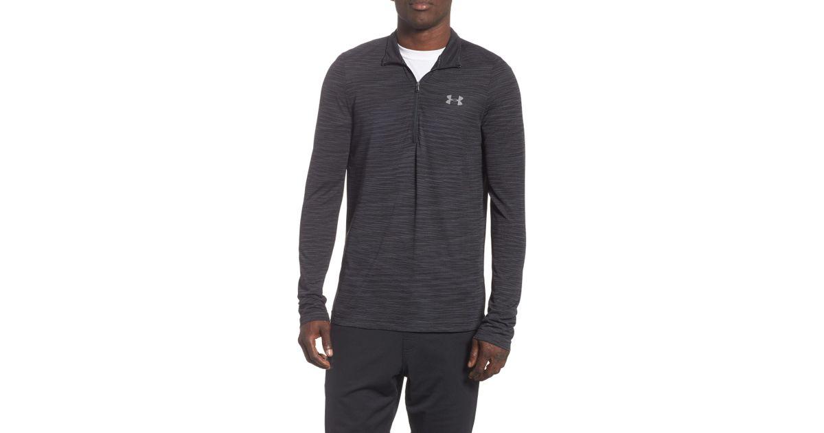 6cb5bdc8 Lyst - Under Armour Siphon Regular Fit Half-zip Pullover in Gray for Men