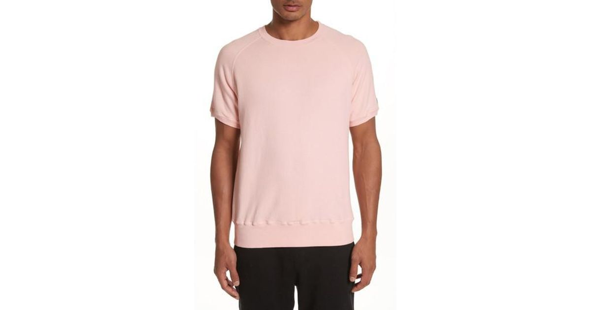 d8d69c83 Todd Snyder + Champion Short Sleeve Sweatshirt in Pink for Men - Lyst