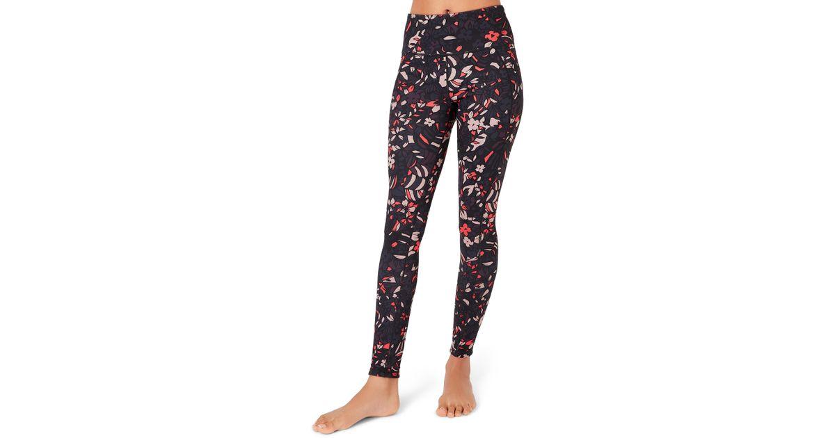 5b89c30f5165a Lyst - Sweaty Betty Reversible Yoga Leggings in Black