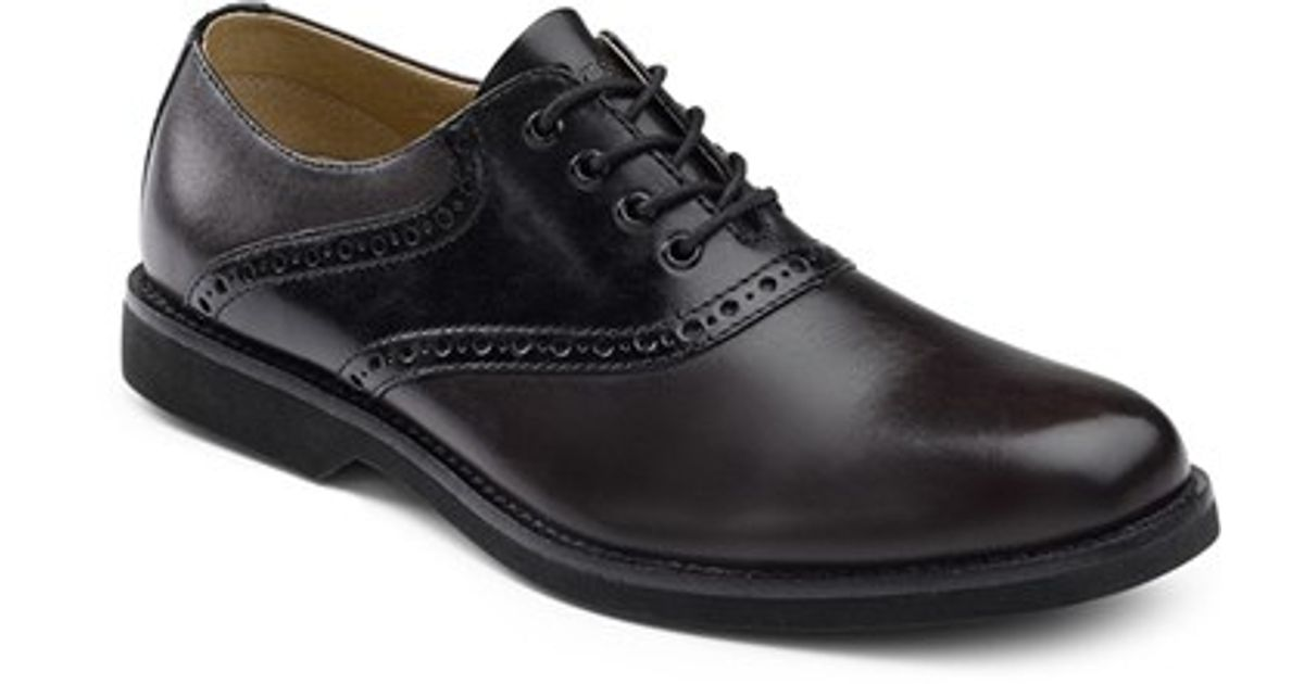 g h bass co saddle shoe in black for lyst