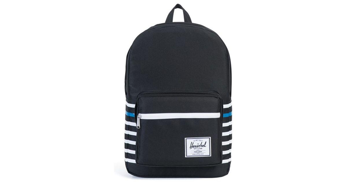 b766705225b3 Lyst - Herschel Supply Co.  pop Quiz - Offset  Backpack in Black for Men