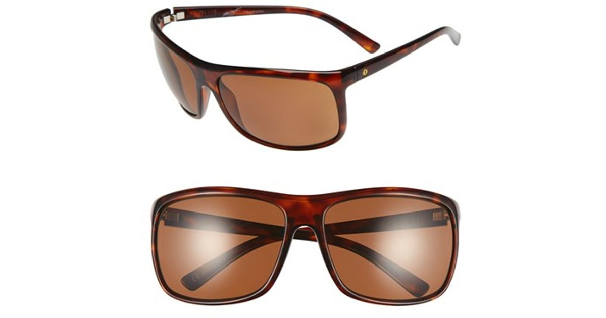 eb0467c2ac Lyst - Electric  outline  64mm Polarized Sunglasses - Gloss Tortoise - Pol  Lvl1 in Brown for Men