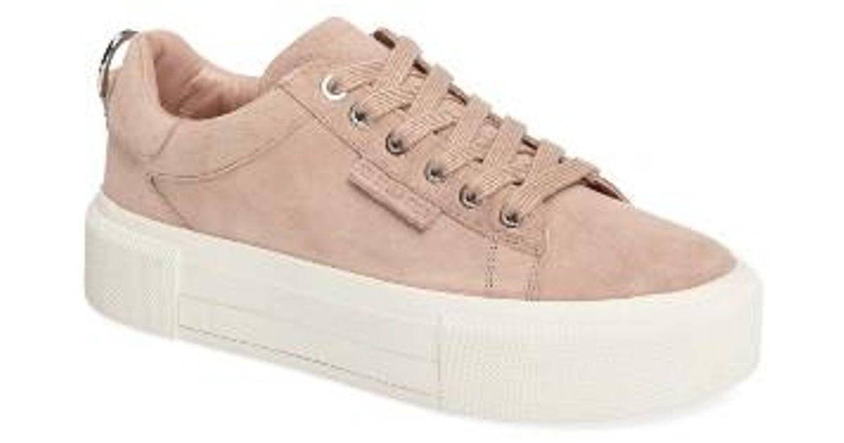 6f37b024a79 Lyst - Kendall + Kylie Tyler Platform Sneaker in Black