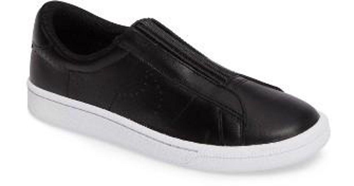 nike classic ez slip on tennis sneakers in white lyst