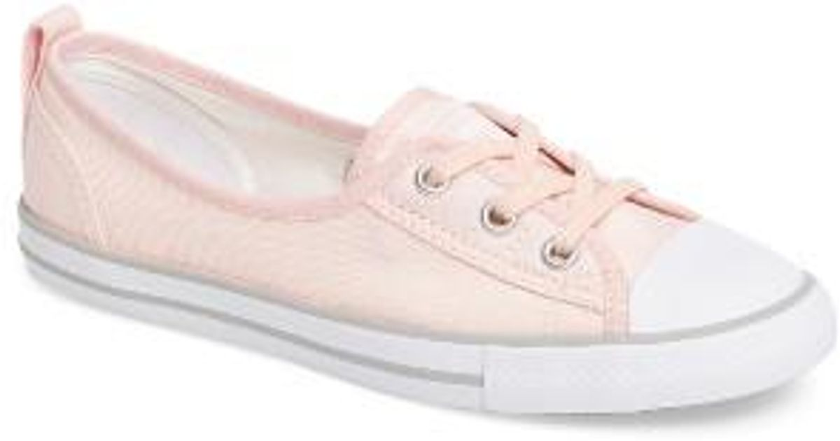 713432c98c8 Lyst - Converse Chuck Taylor All Star Ballet Canvas Sneaker in Pink