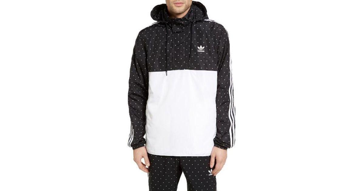 0dbaaf445e228 Lyst - adidas Originals By Pharrell Williams Hu Windbreaker in Black for Men