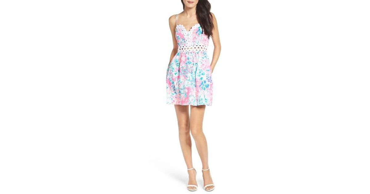 Lilly Pulitzer Lilly Pulitzer Rika Fit Amp Flare Dress In