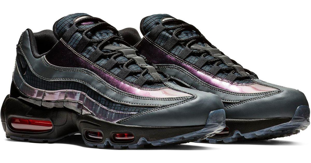 2ec4a8abf9 Nike Air Max 95 Lv8 Sneaker in Black - Lyst