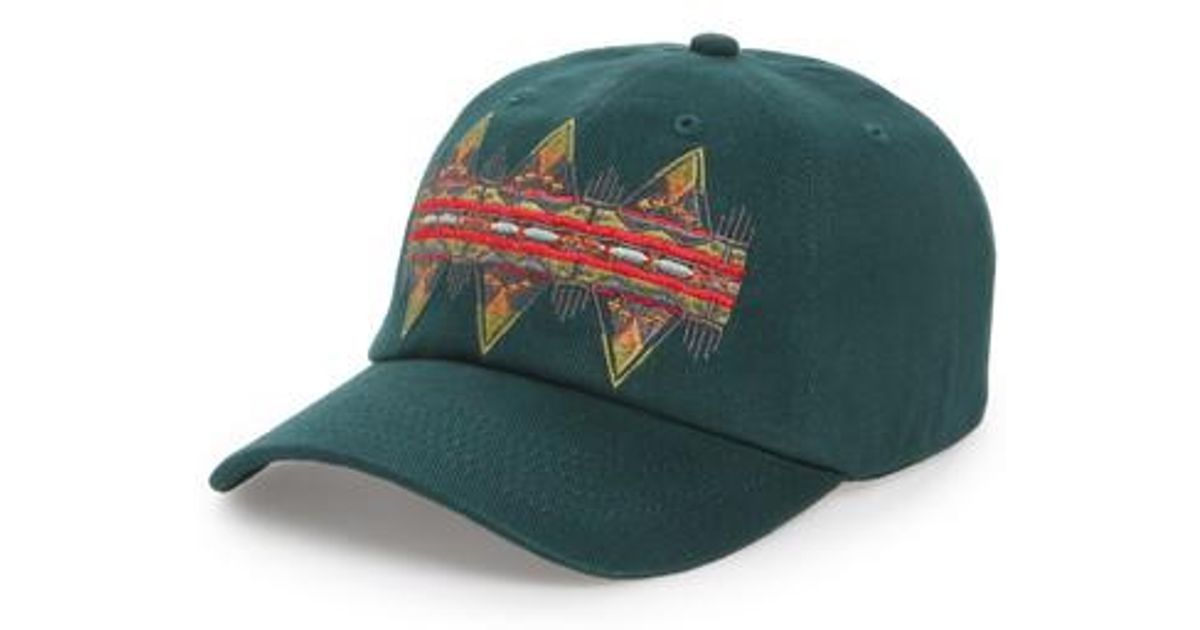 Lyst - Pendleton Embroidered Ball Cap in Green for Men 224a5ad7a80