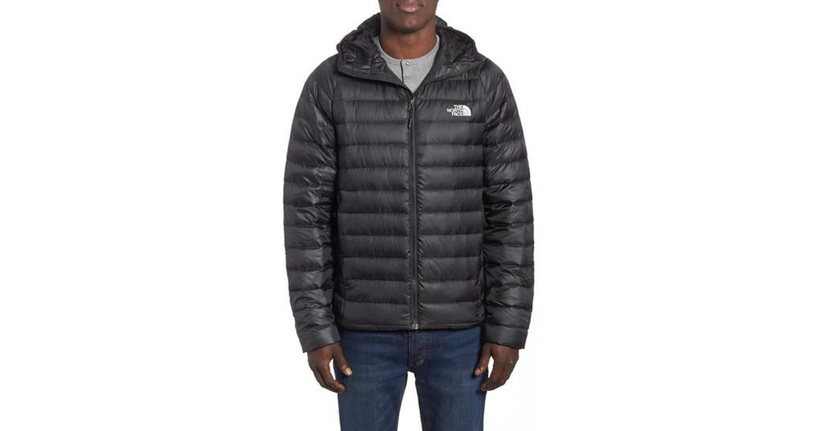 Lyst - The North Face Trevail Water Repellent Packable 800-fill-power Down  Hooded Jacket cbc0191c8