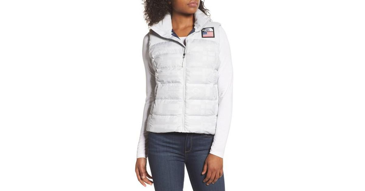 cc224c28c9b0 Lyst - The North Face International Collection Nuptse 700-fill Power Down  Puffer Vest in Gray