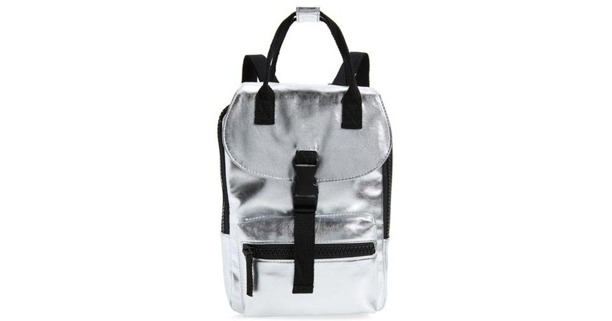 d4afdd0d3329 Lyst - Bp. Mini Metallic Utility Backpack in Metallic