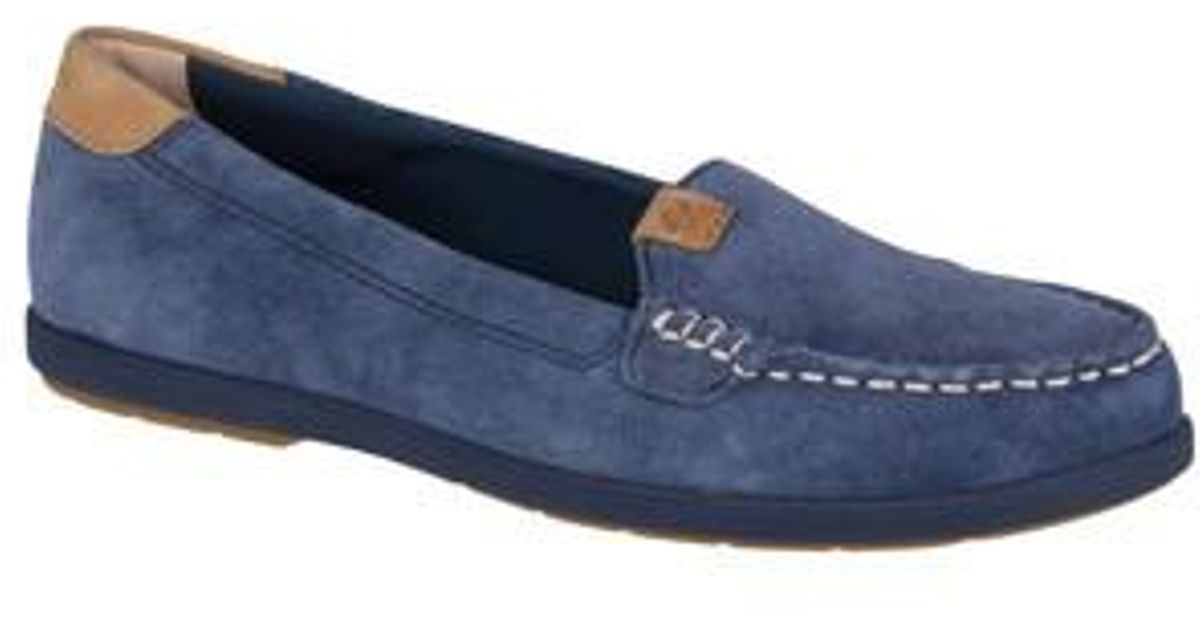ef17408e018 Lyst - Sperry Top-Sider Coil Mia Loafer in Blue