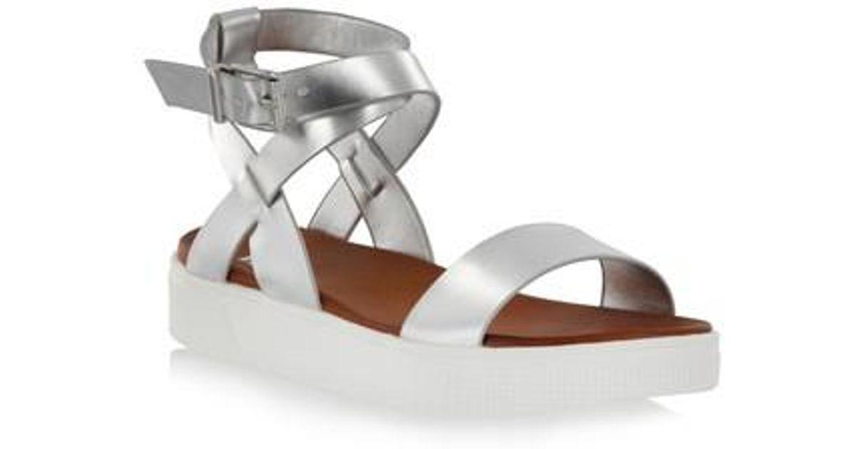 af112ee05e4 Lyst - Mia Calla Platform Sandal in Metallic
