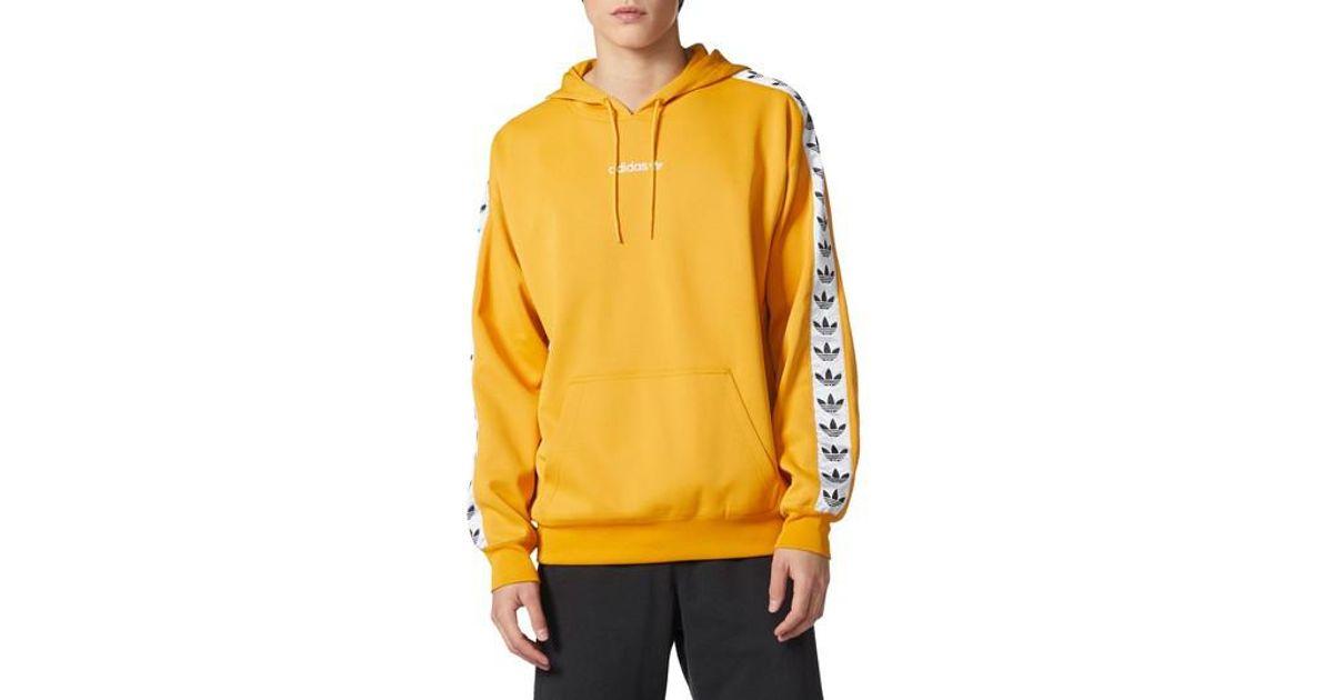 c5b1d3f6c7 Lyst - adidas Originals Tnt Tape Hoodie in Yellow for Men