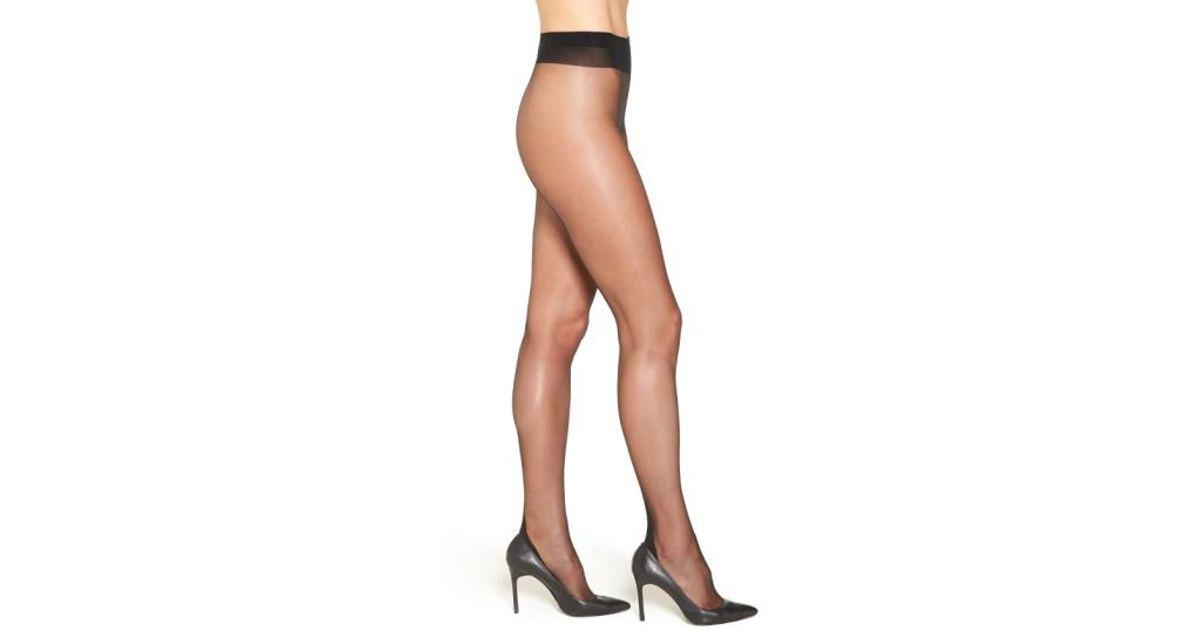 147ba01c2 Falke 'high Heel' Back Seam Pantyhose in Black - Lyst