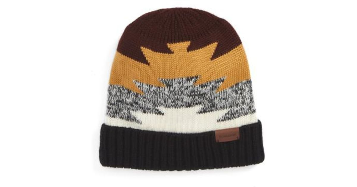 Lyst - Pendleton Fitted Beanie 9948a9b6f4a