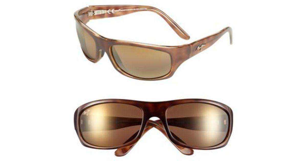 e6ad6de7c334 Lyst - Maui Jim 'surf Rider - Polarizedplus2' 63mm Sunglasses in Brown for  Men