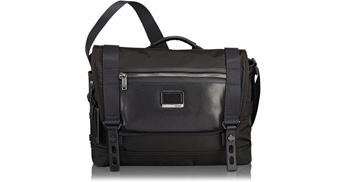 e71856d567c2 Lyst - Tumi Alpha Bravo - Fallon Messenger Bag in Black for Men - Save 13%