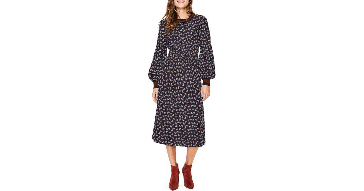 590af67d0646 Lyst - Boden Roberta Midi Dress in Black