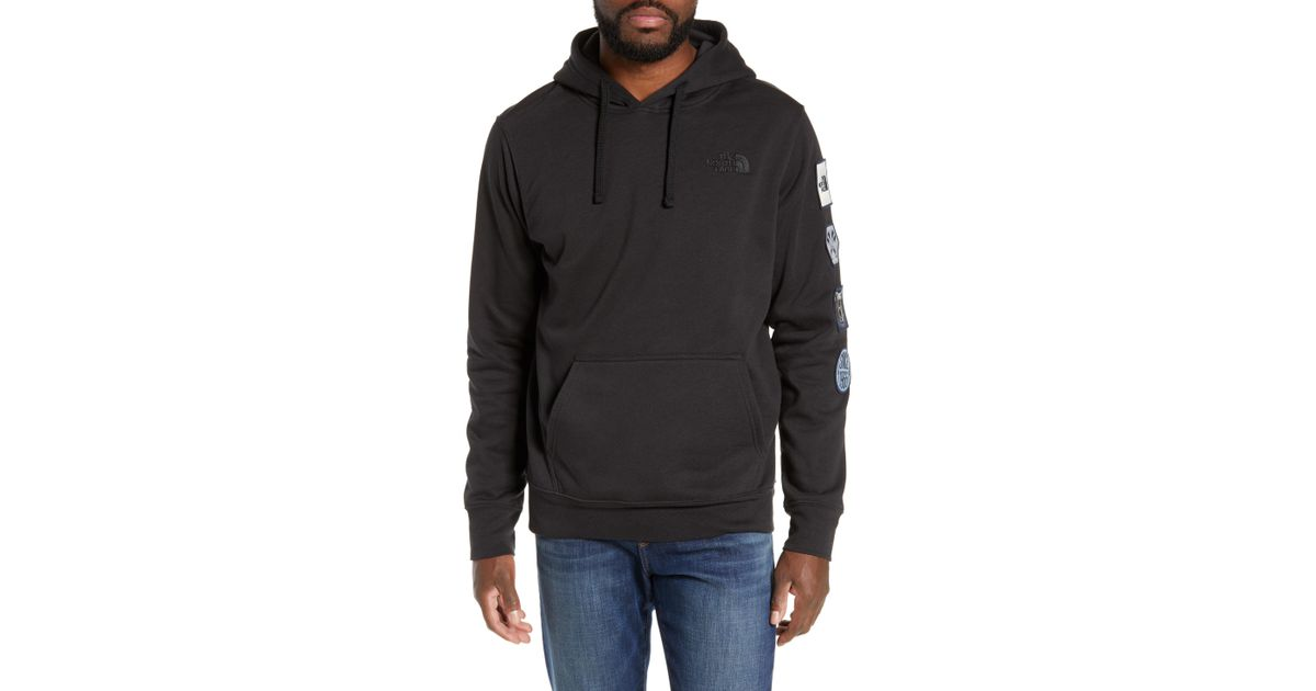 Lyst - The North Face Urban Patches Hoodie in Black for Men 3dcc57bed